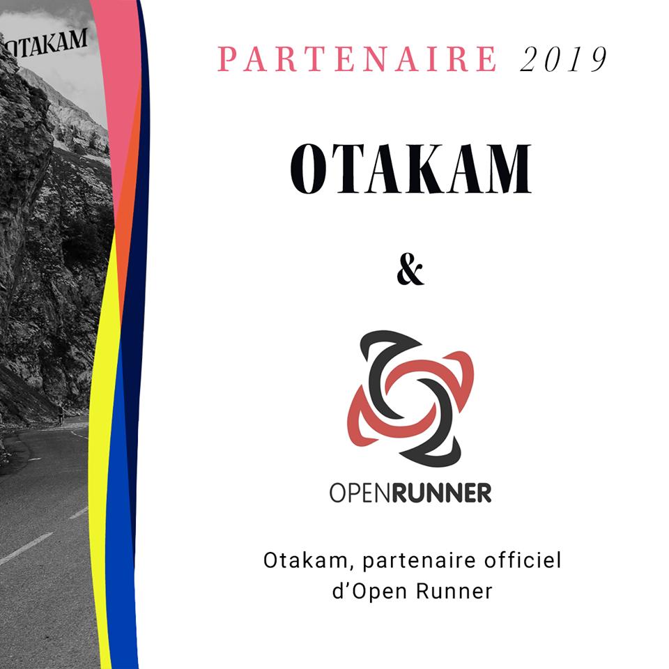 OpenRunner, partenaire Otakam