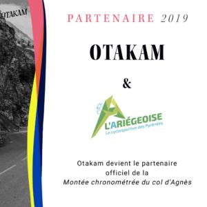L'Ariégeoise, partenaire Otakam 2019
